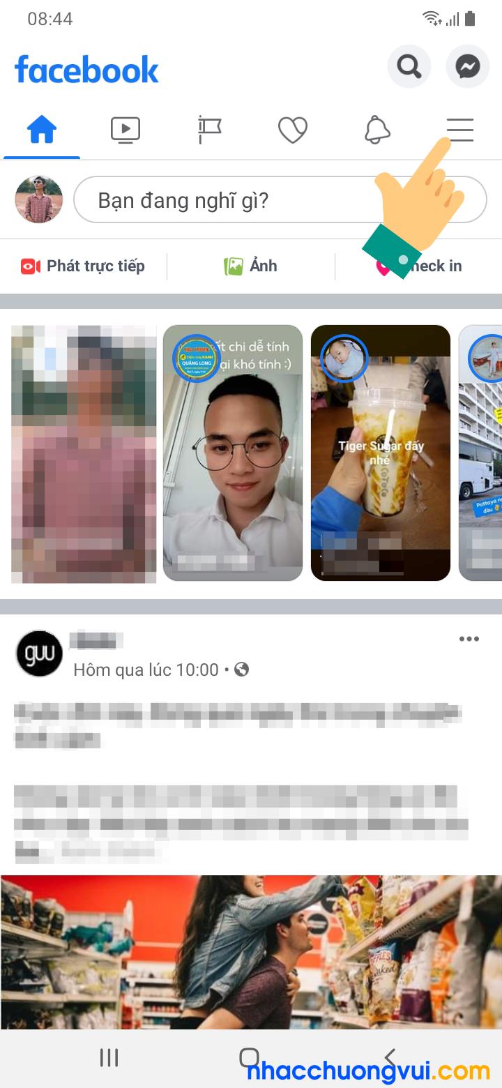 Cách ẩn danh sách bạn bè Facebook trên điện thoại Android Samsung Oppo