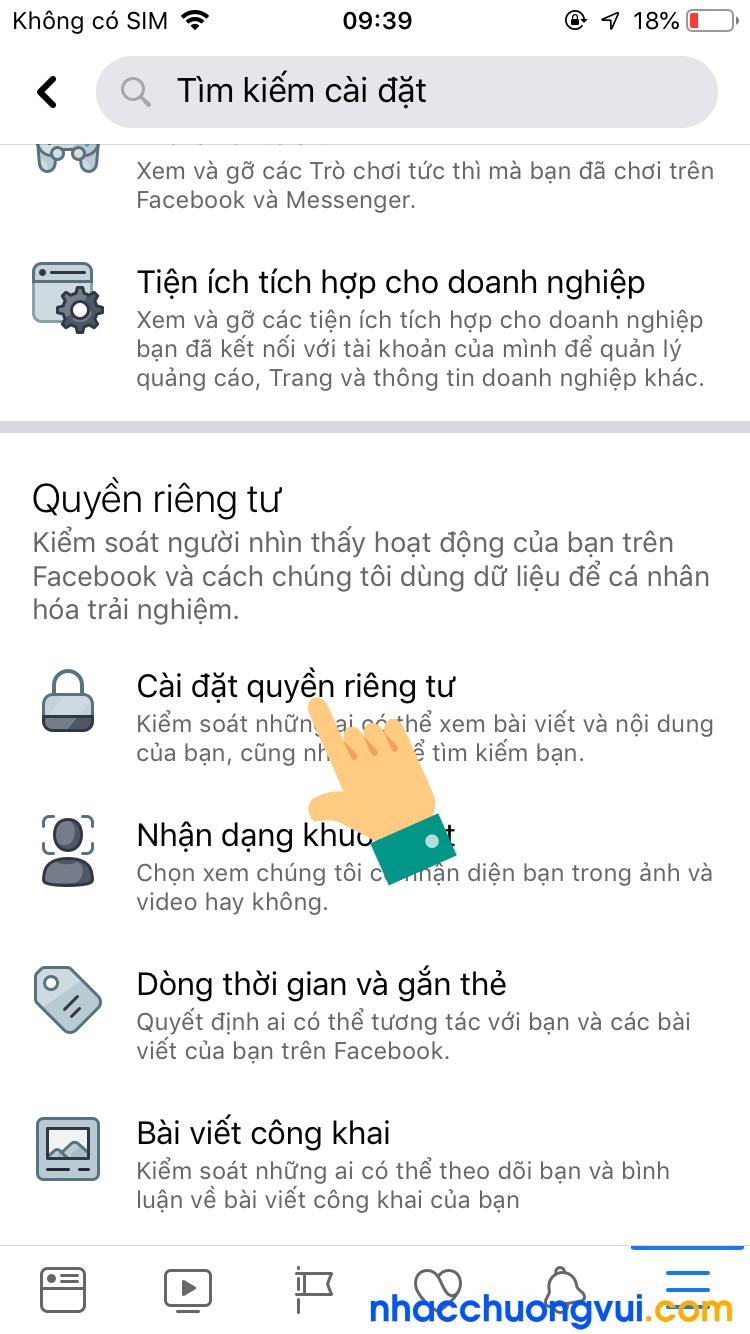 Cách ẩn bạn bè trên Facebook iPhone 3