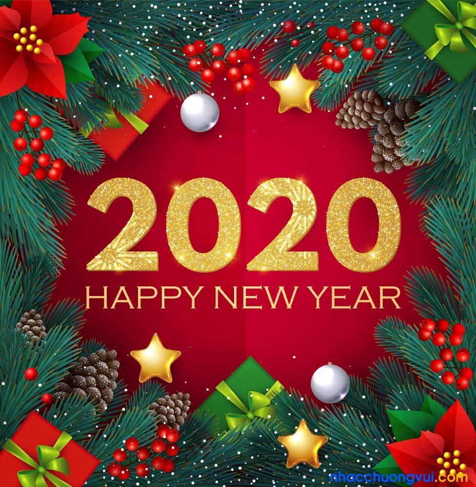 Hình ảnh chúc tết, năm mới 2020 11