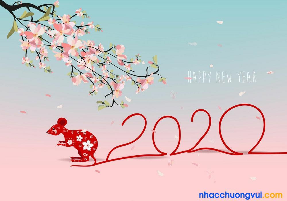 Hình ảnh chúc tết, năm mới 2020 8