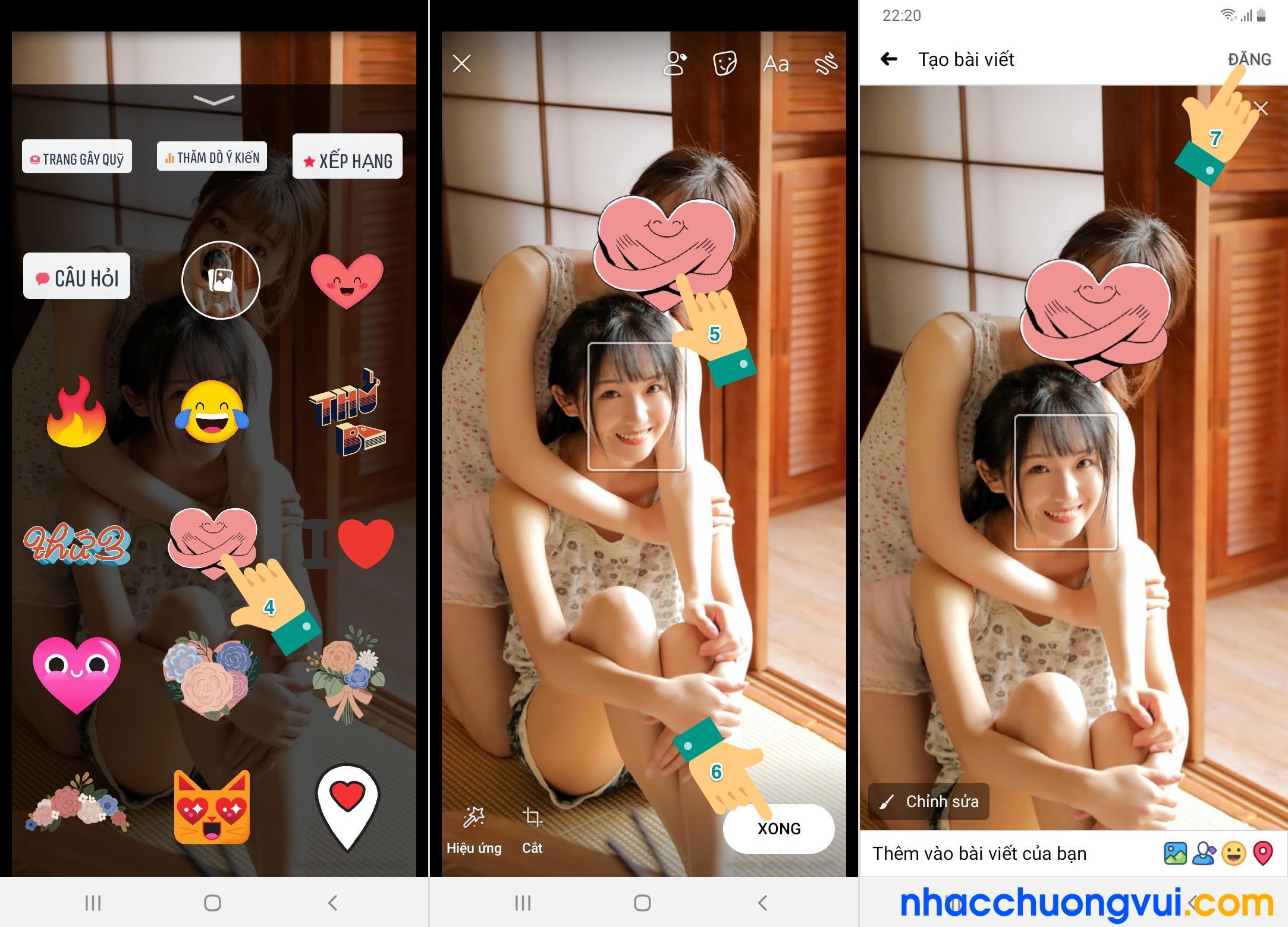 Cách che mặt trong ảnh trên điện thoại không cần phần mềm 2