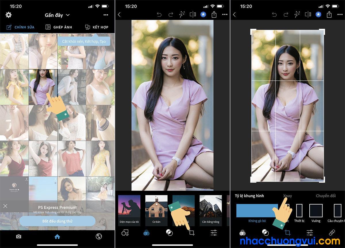 Cách chụp ảnh camera trước bị lệch mặt trên iPhone cũ hơn iOS 13 1