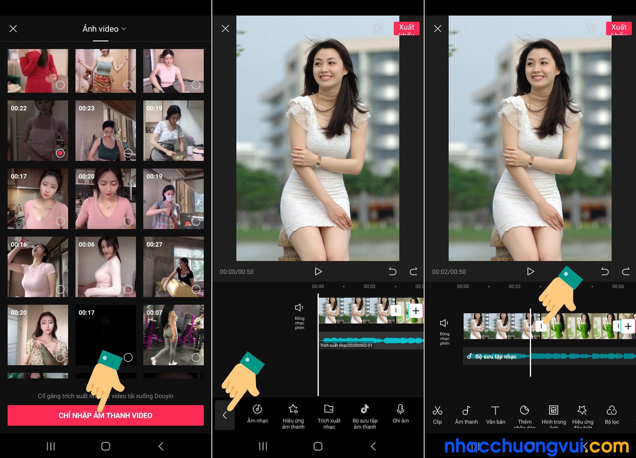 Cách làm video bằng ứng dụng chỉnh sửa video Tik Tok Trung Quốc JianYing 2