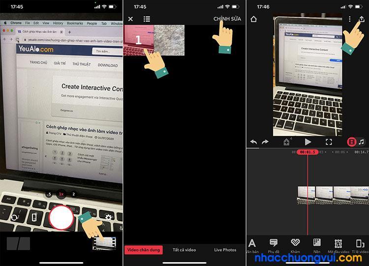 Cách quay video xoá phông trên iPhone 2