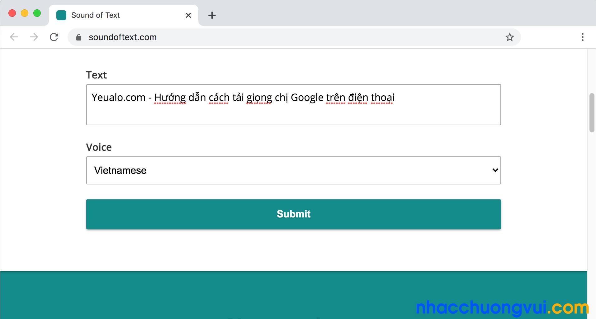 Các bước tải giọng chị Google trên máy tính