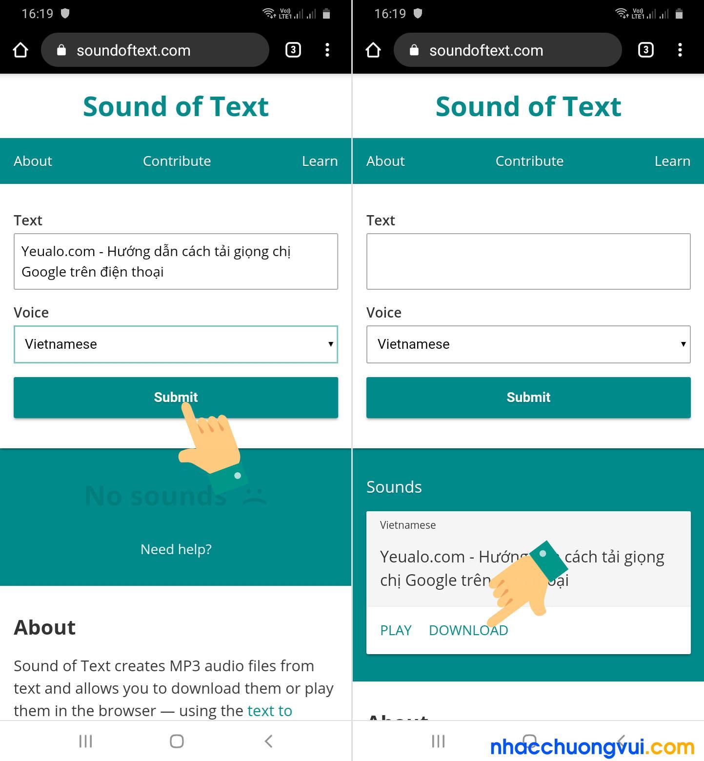 Các bước tải giọng chị Google trên điện thoại