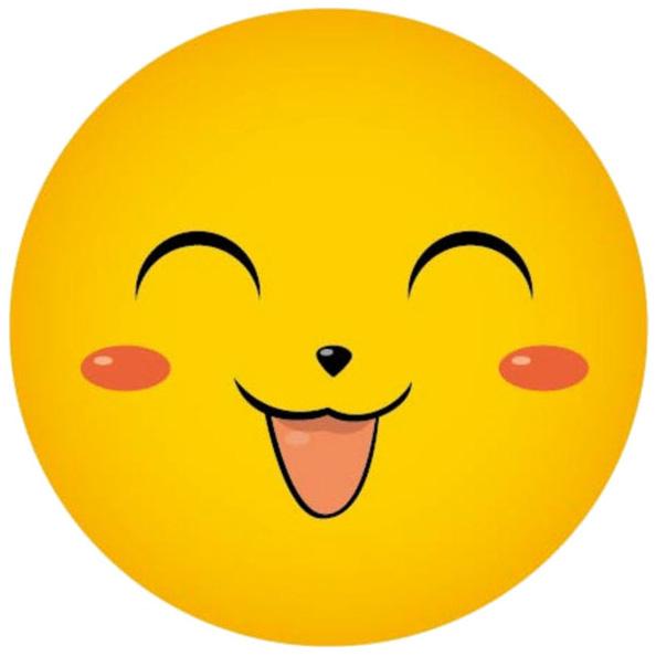 Hình ảnh mặt cười cute dễ thương 1