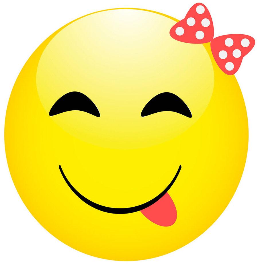 Hình ảnh mặt cười nheo mắt đáng yêu 10
