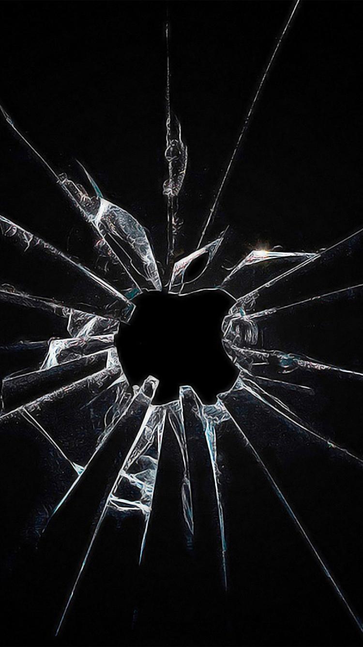 Hình nền kính vỡ cho điện thoại 2