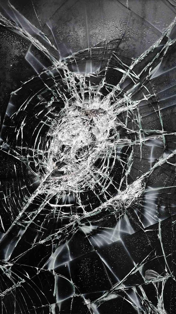 Hình nền kính vỡ cho điện thoại 16