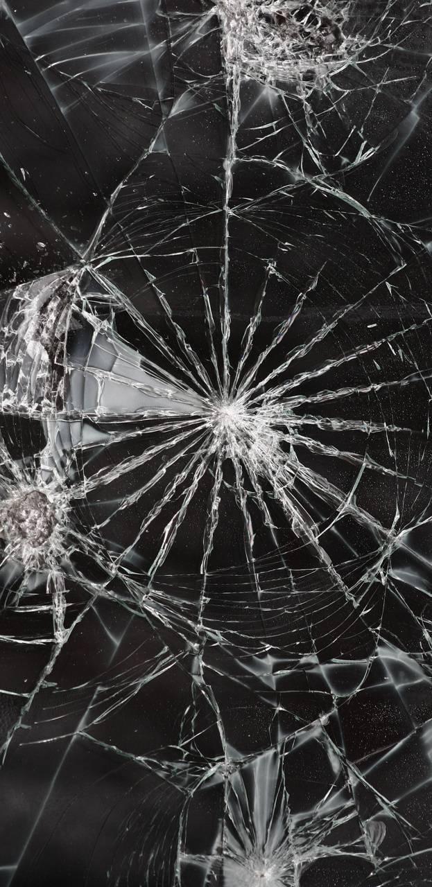 Hình nền kính vỡ cho điện thoại 21