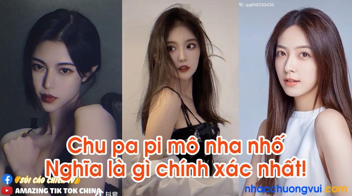 Chu pa pi mô nha nhố Nghĩa là gì?